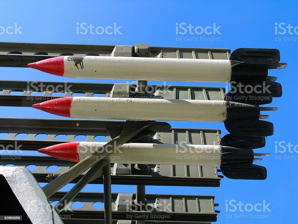 Missiles Katyusha royalty-free stock photo