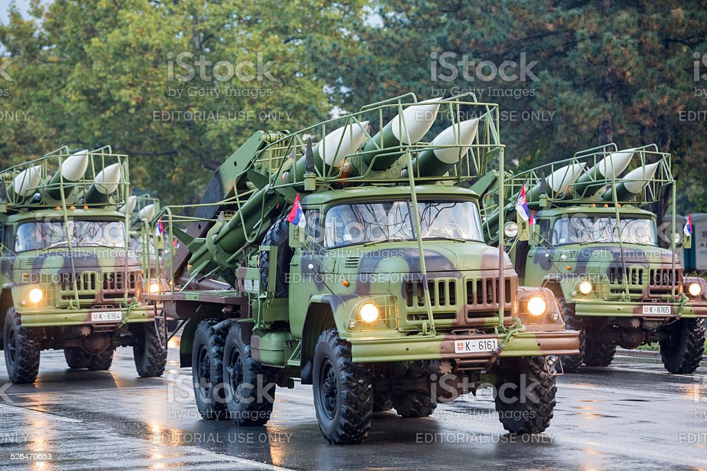 Missiles stock photo