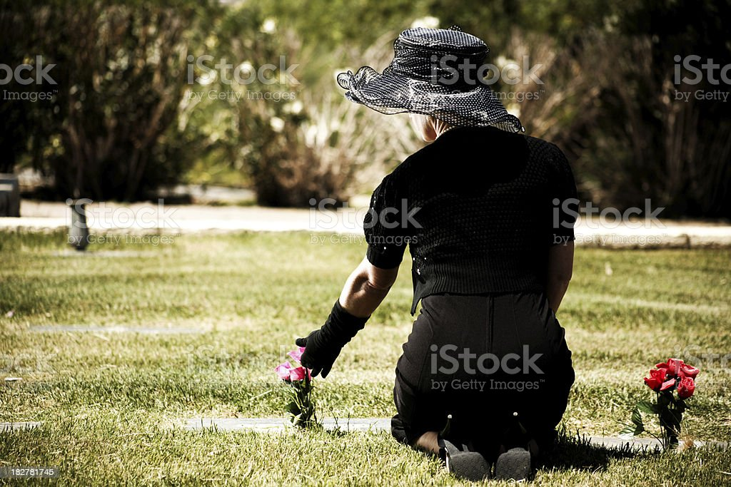 Missing a Loved One stock photo