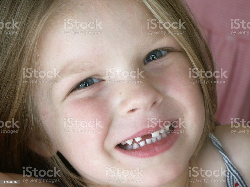 Missing a Tooth royalty-free stock photo