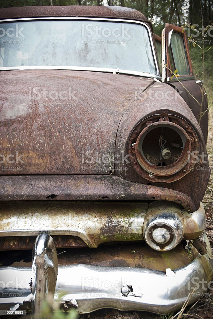 Missing Headlight royalty-free stock photo