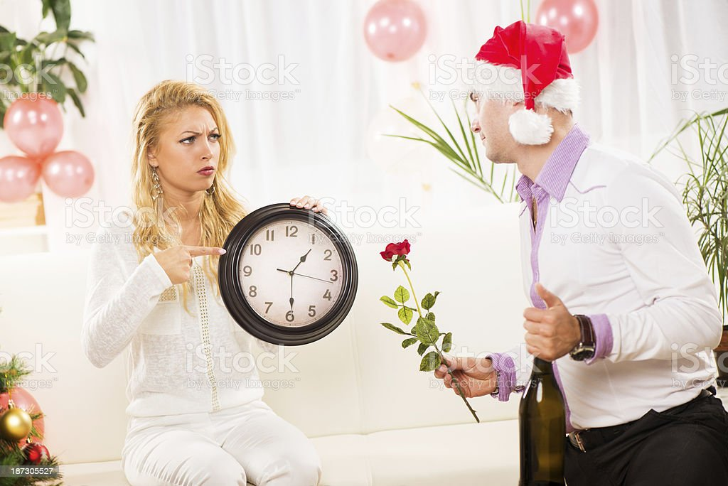 Missing party royalty-free stock photo