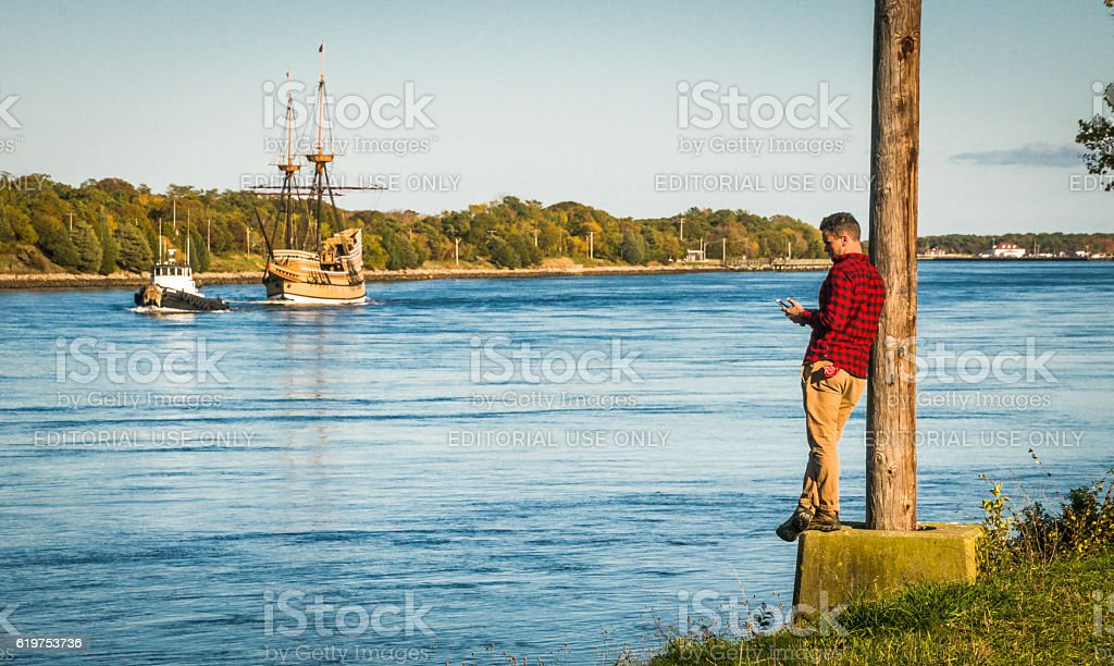 Missing the Action stock photo