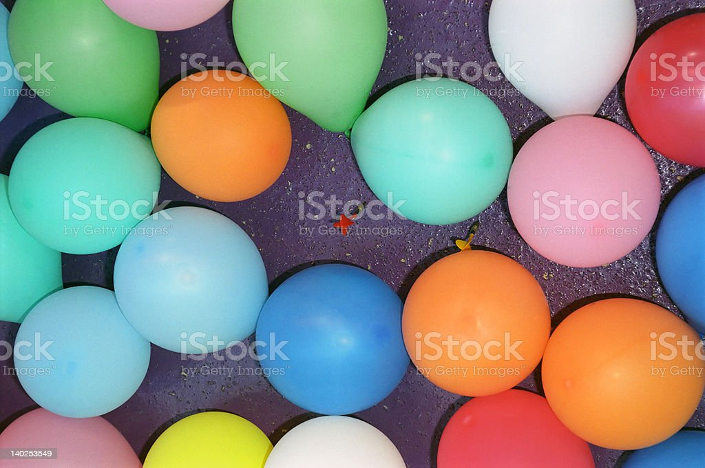 Missing the target royalty-free stock photo