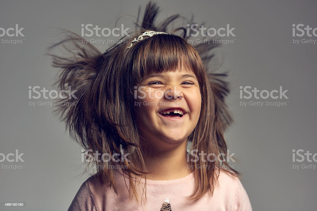 missing tooth happiness stock photo