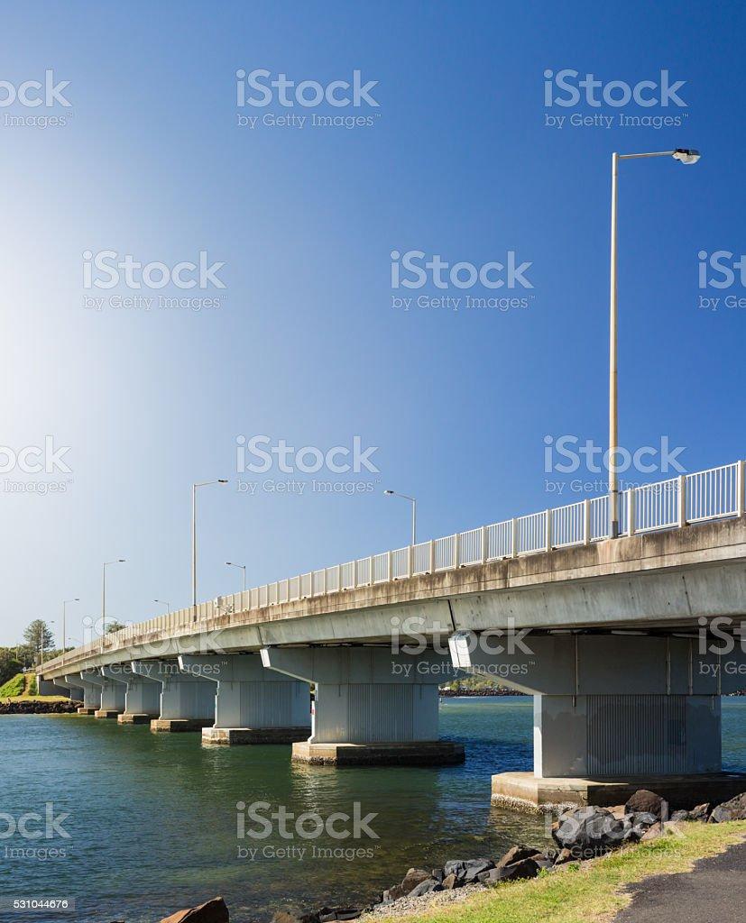 Missingham Bridge in Ballina stock photo
