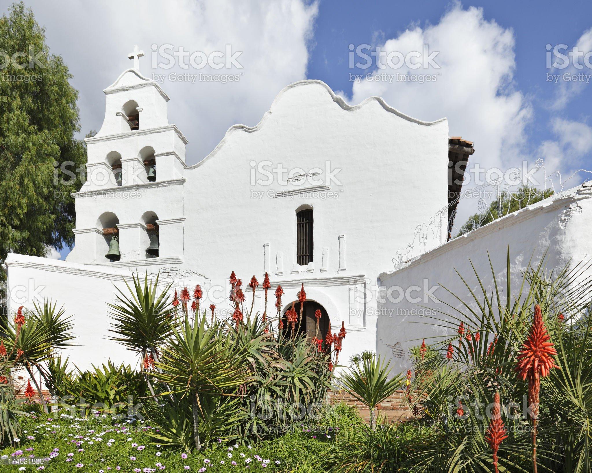 Mission Basilica San Diego de Alcala royalty-free stock photo
