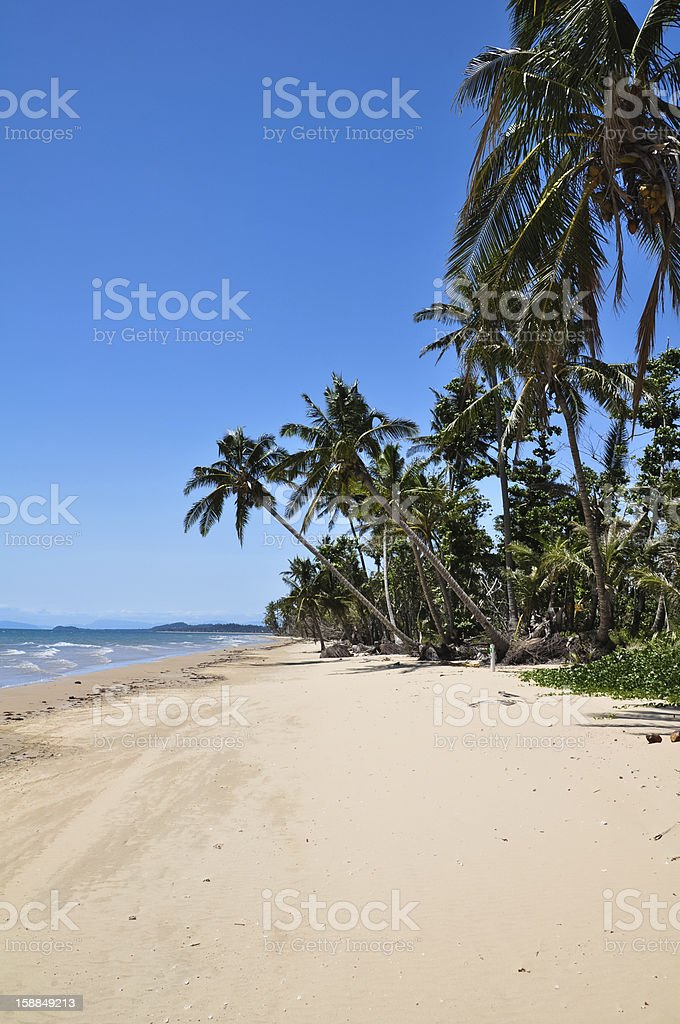 Mission Beach, Queensland, Australia royalty-free stock photo