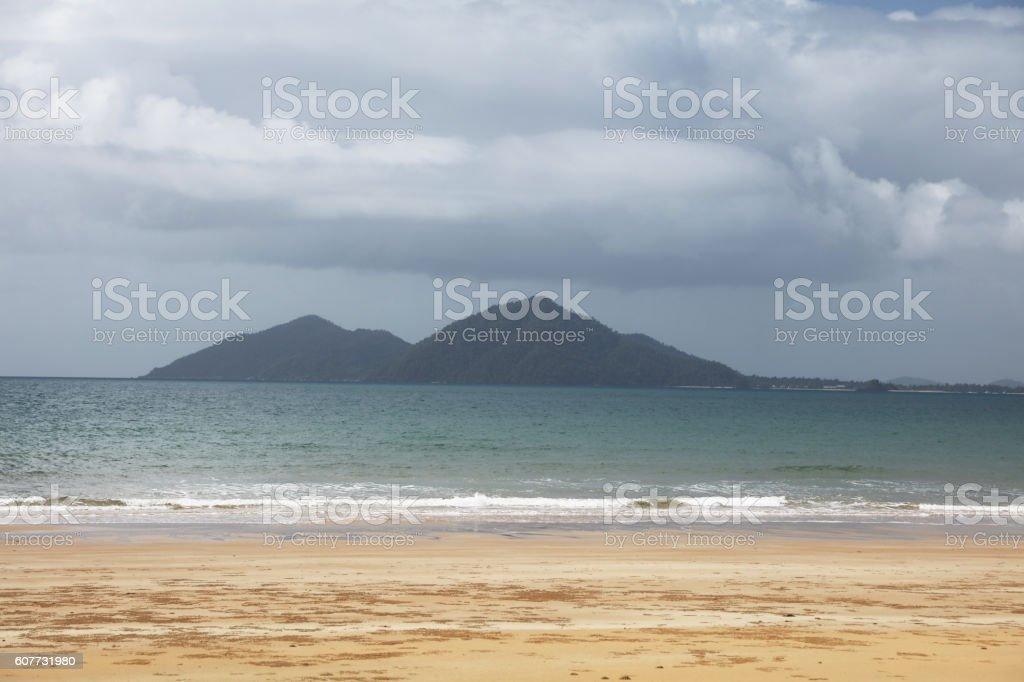 Mission Beach Queensland stock photo