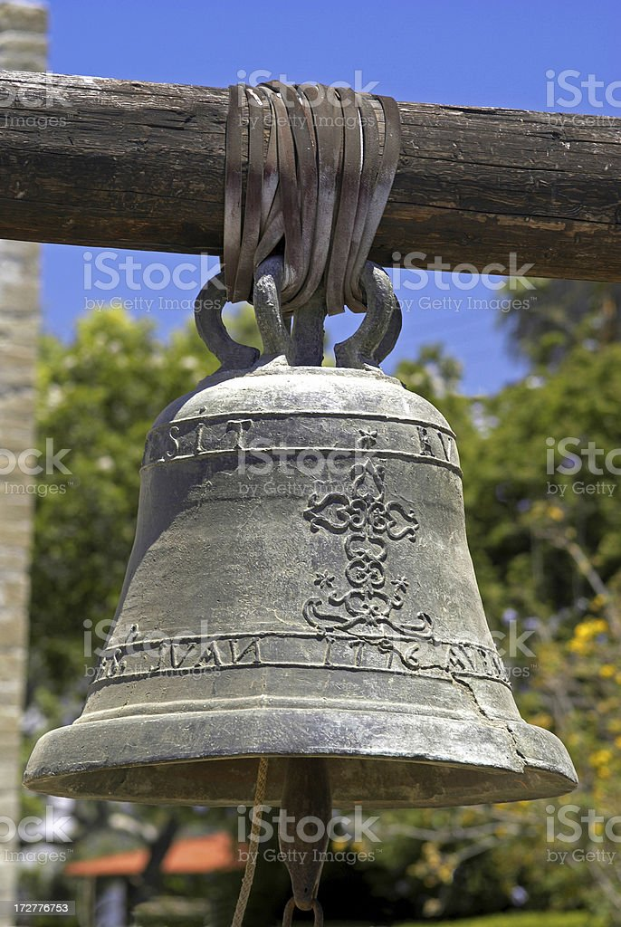 Mission Bell royalty-free stock photo