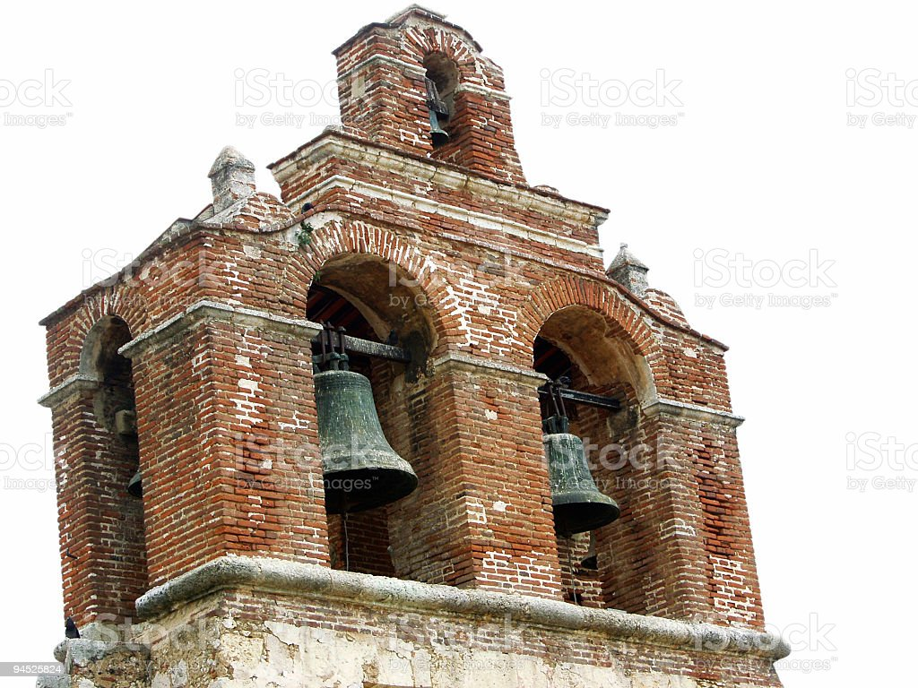 Mission Bells royalty-free stock photo