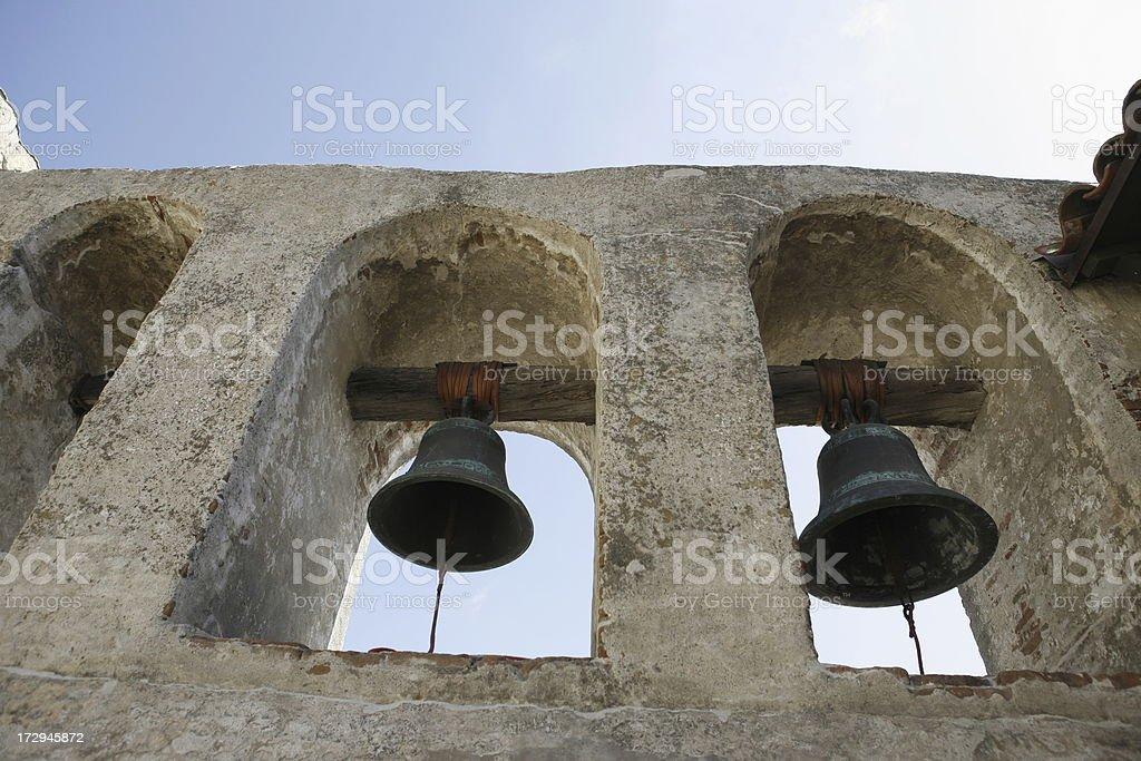 Mission Bells - San Juan Capistrano stock photo