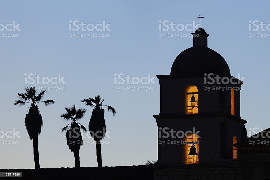Mission Clock Tower stock photo