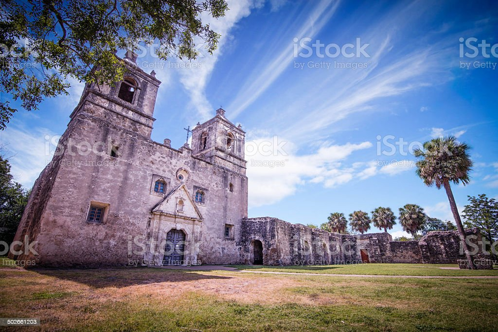 Mission Concepcion stock photo
