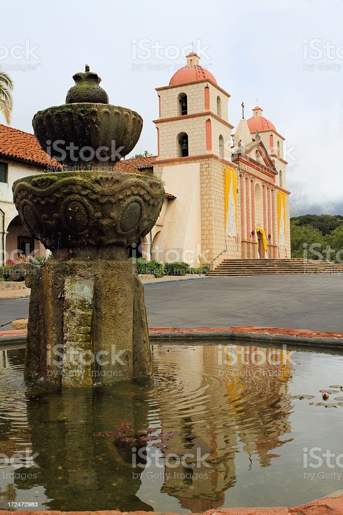 Mission reflection royalty-free stock photo