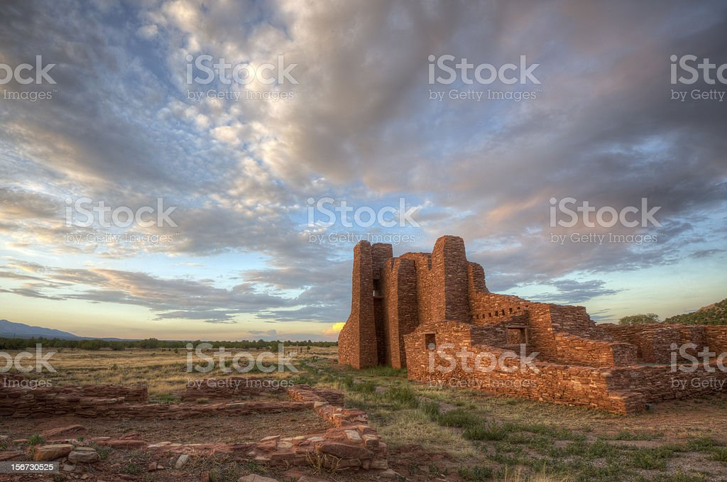 Mission Ruins stock photo