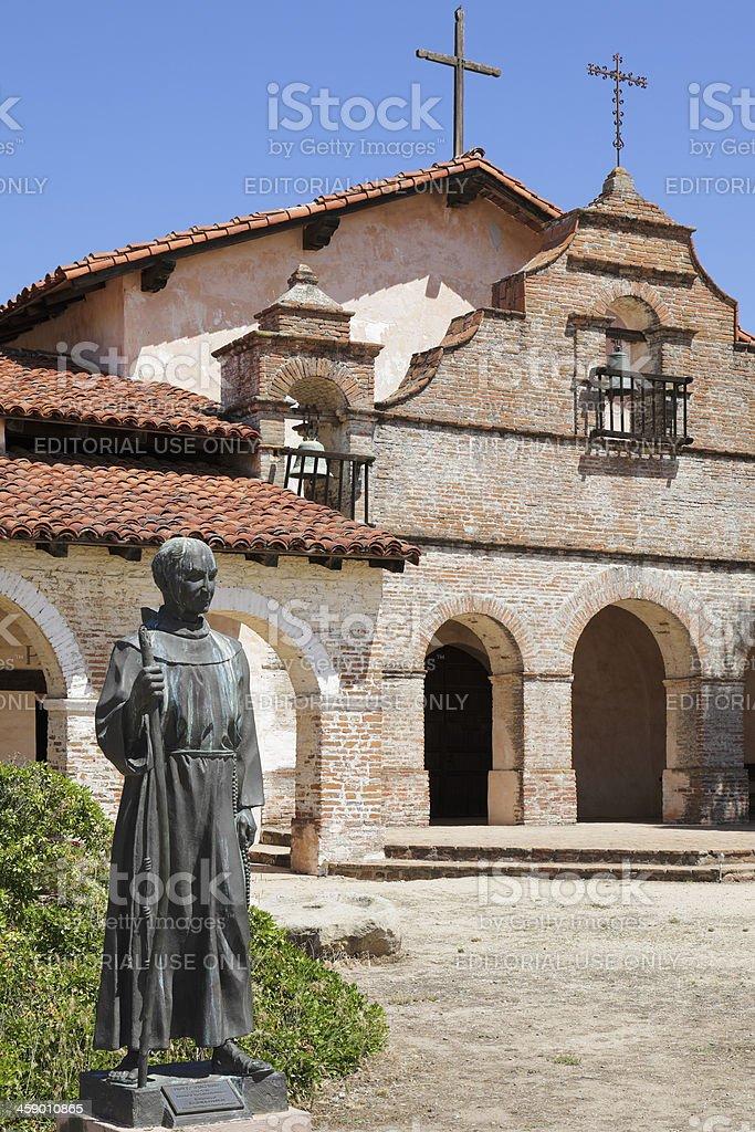 Mission San Antonio de Padua stock photo