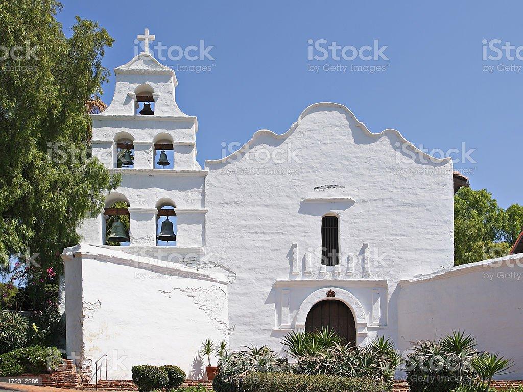 Mission San Diego royalty-free stock photo