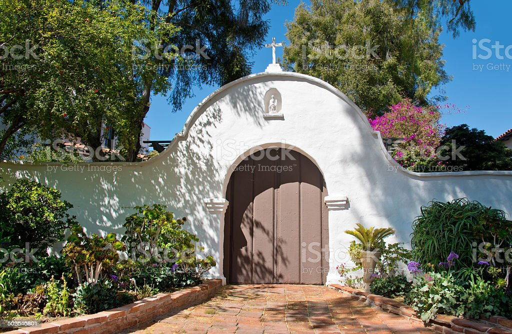 Mission San Diego stock photo