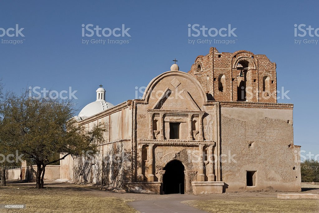 Mission San Jose de Tumacacori stock photo