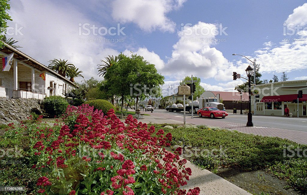 Mission San Jose, Fremont California stock photo