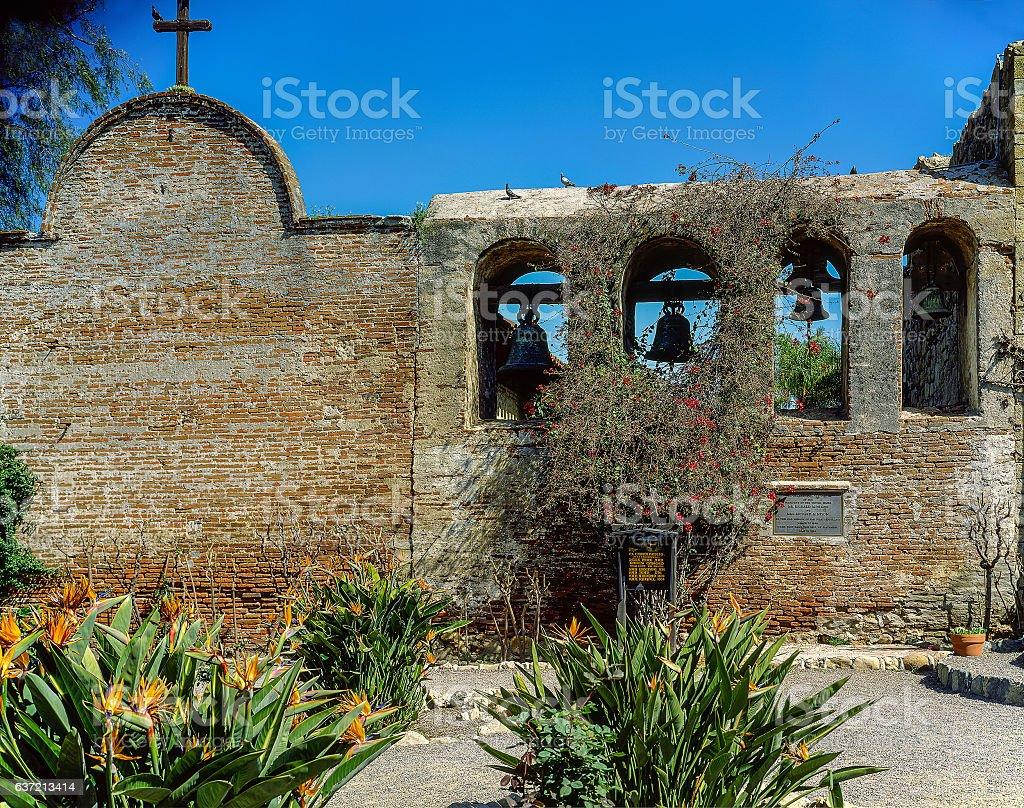 Mission San Juan Capistrano stock photo
