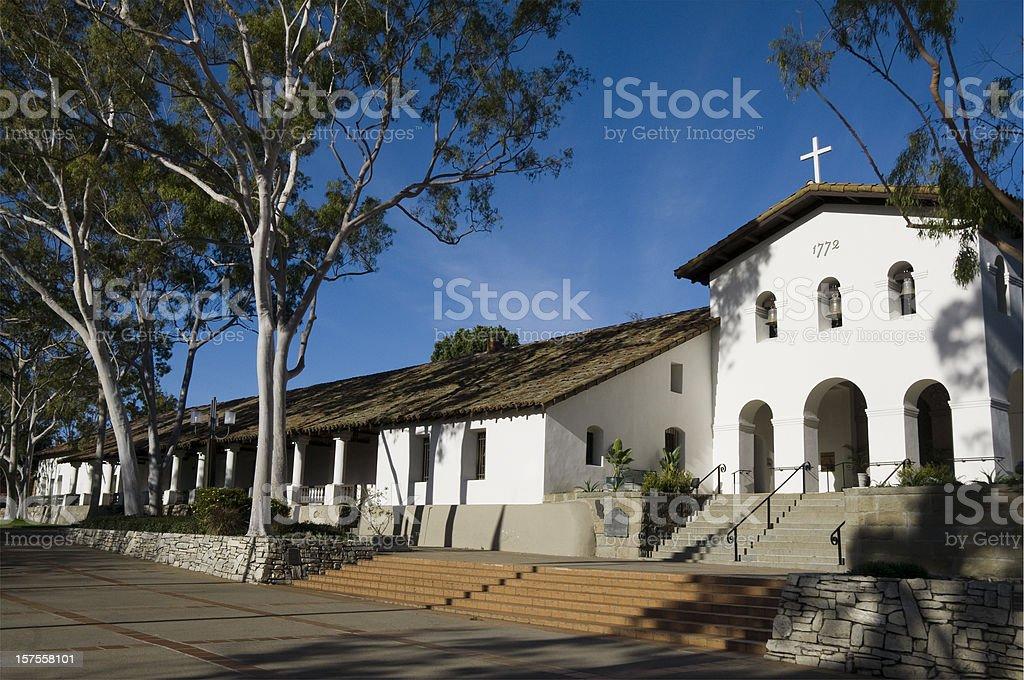 Mission San Luis Obispo de Tolosa, California stock photo