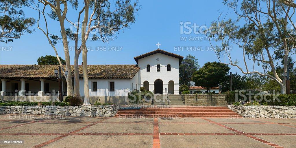 Mission San Luis Obispo stock photo