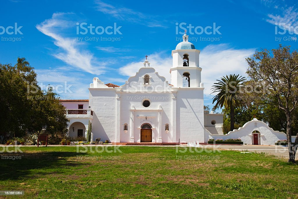 Mission San Luis Rey stock photo