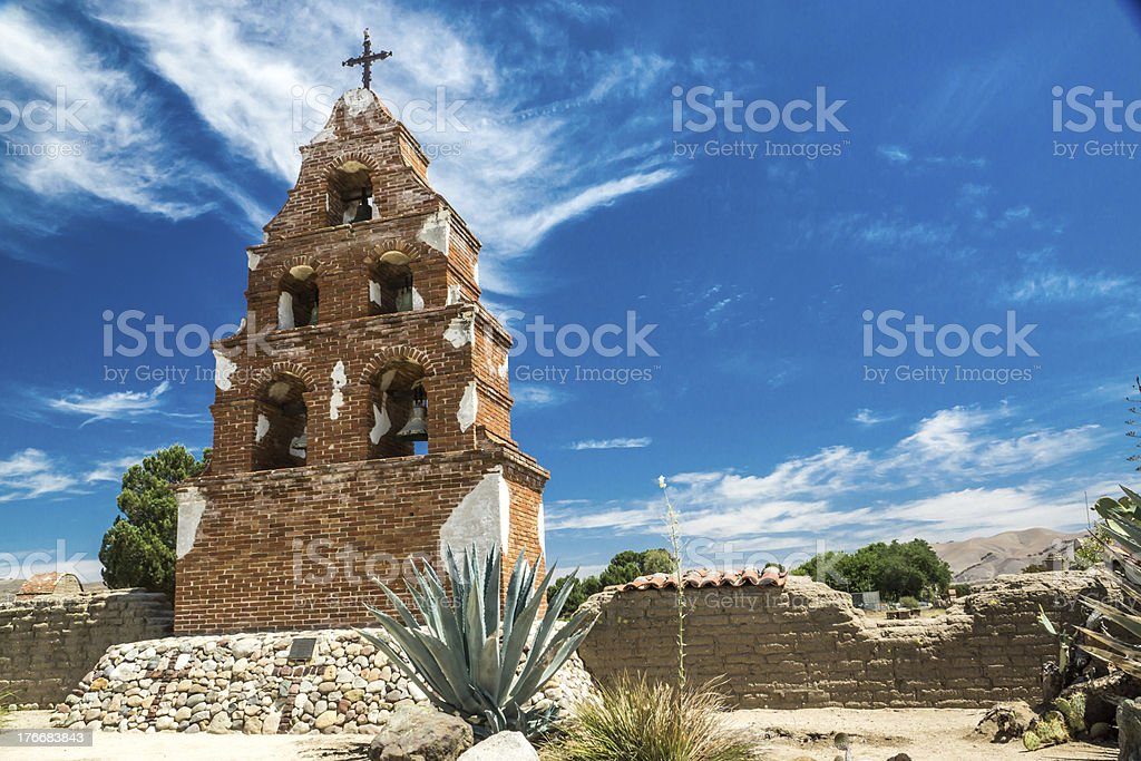 Mission San Miguel Arcangel royalty-free stock photo
