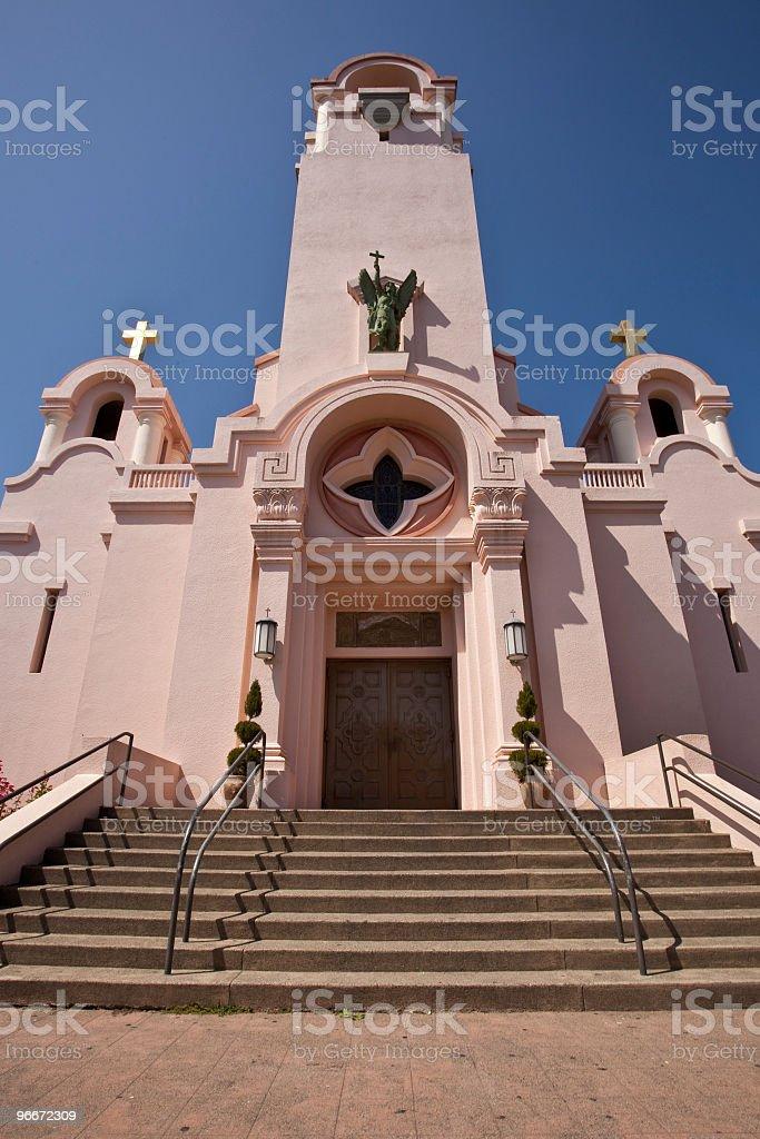 Mission San Rafael Arcángel stock photo