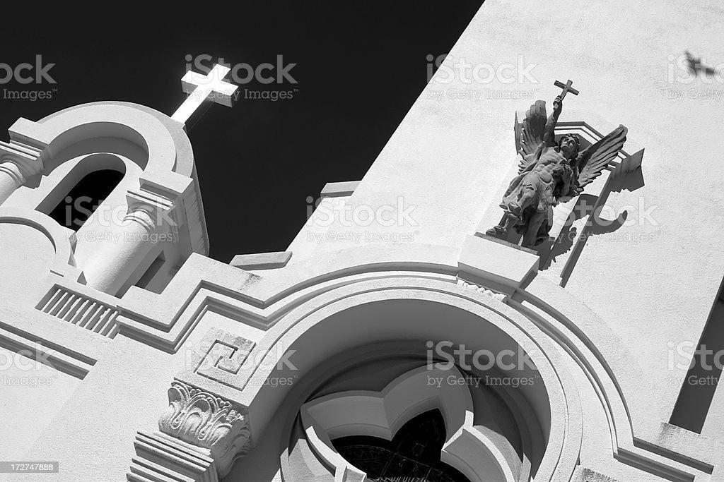 Mission San Rafael Arcangel stock photo