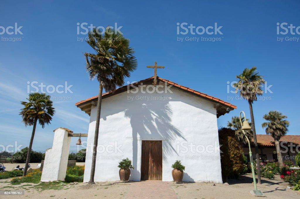 Mission Soledad stock photo