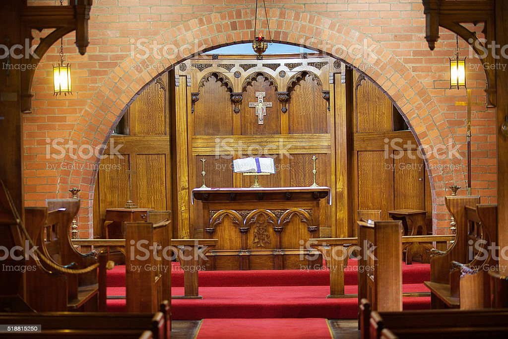 Mission to Seafarers Chapel stock photo
