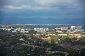 Mission Valley to the east of the City of San Diego,California