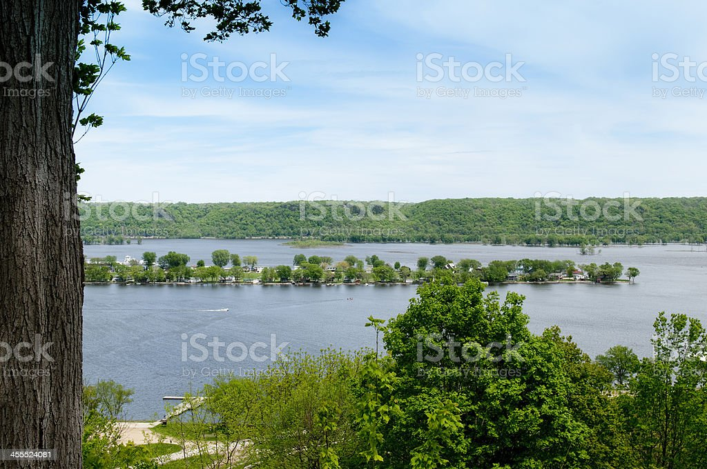 Mississippi River royalty-free stock photo