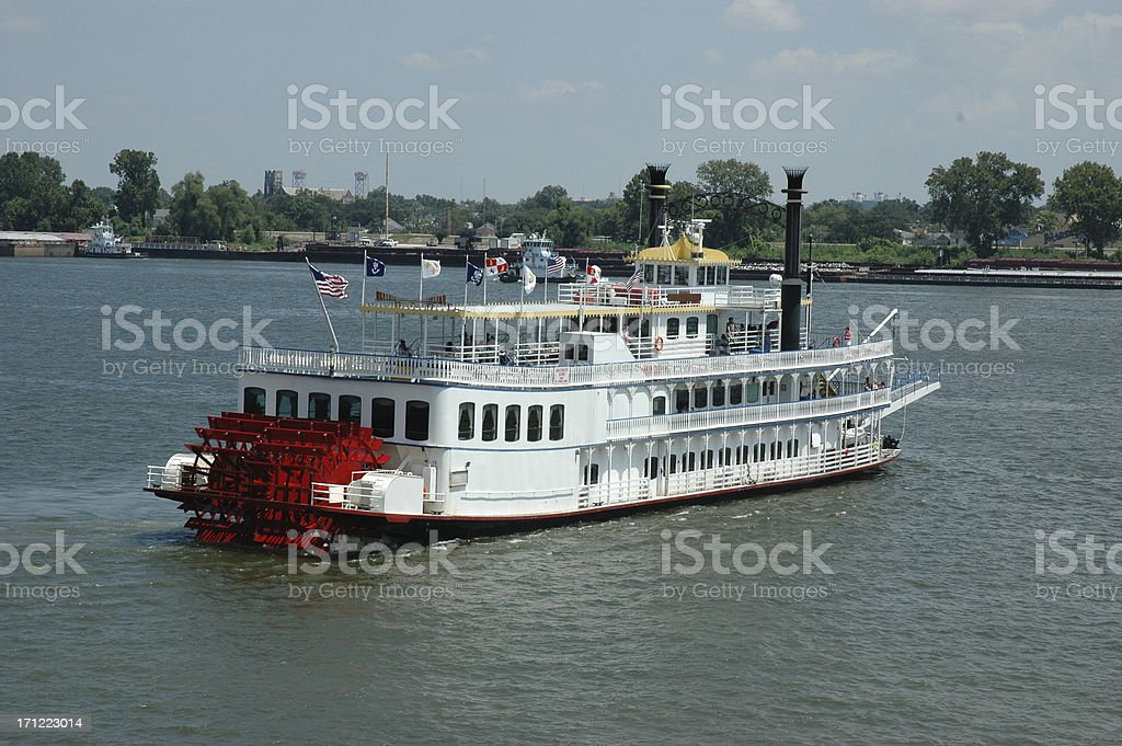 Mississippi Riverboat royalty-free stock photo