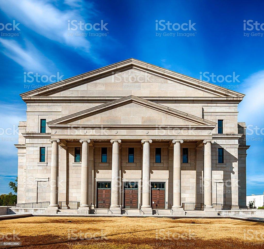 Mississippi Supreme Court In Jackson stock photo