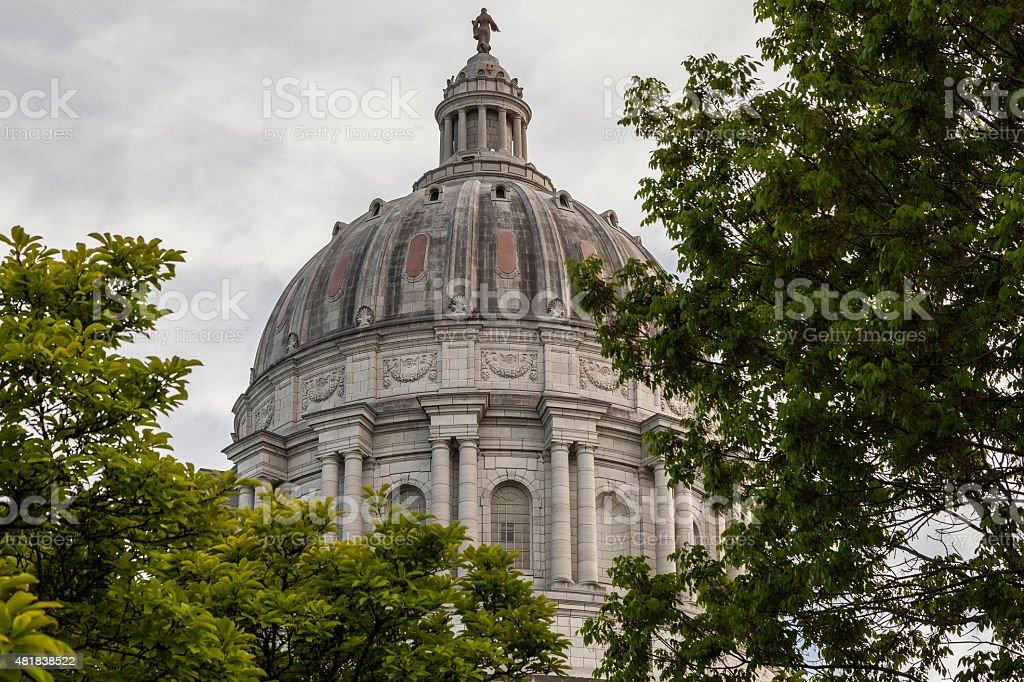 Missouri Capitol stock photo