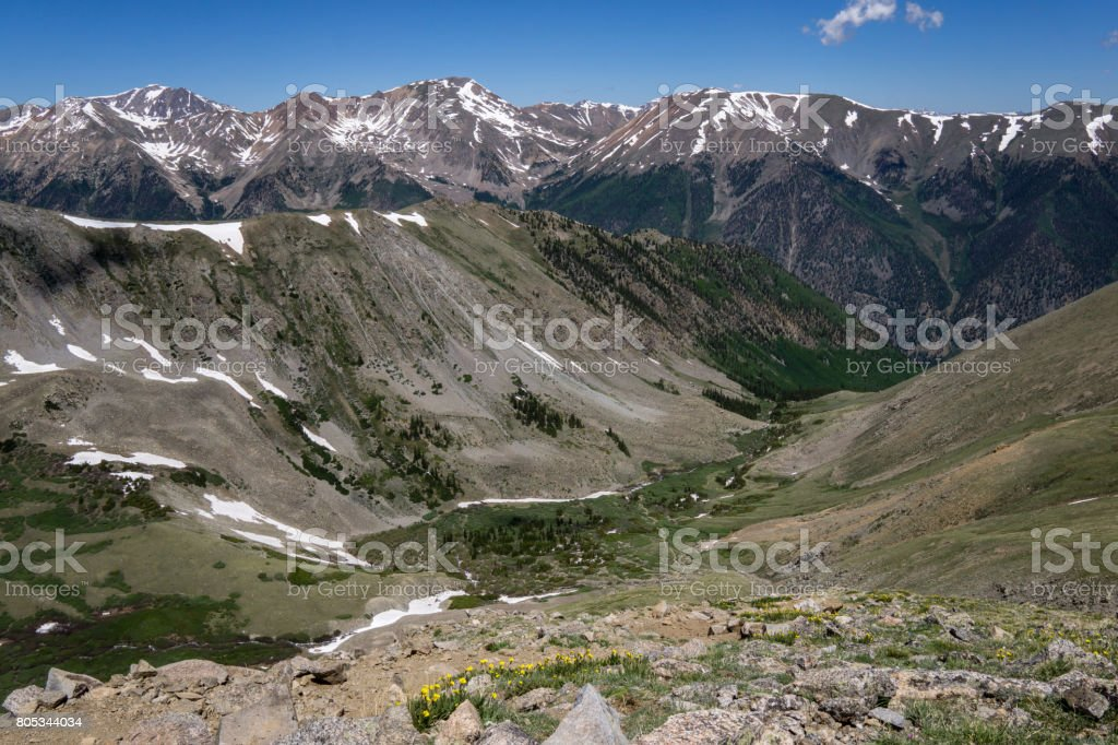 Missouri Gulch - Colorado stock photo