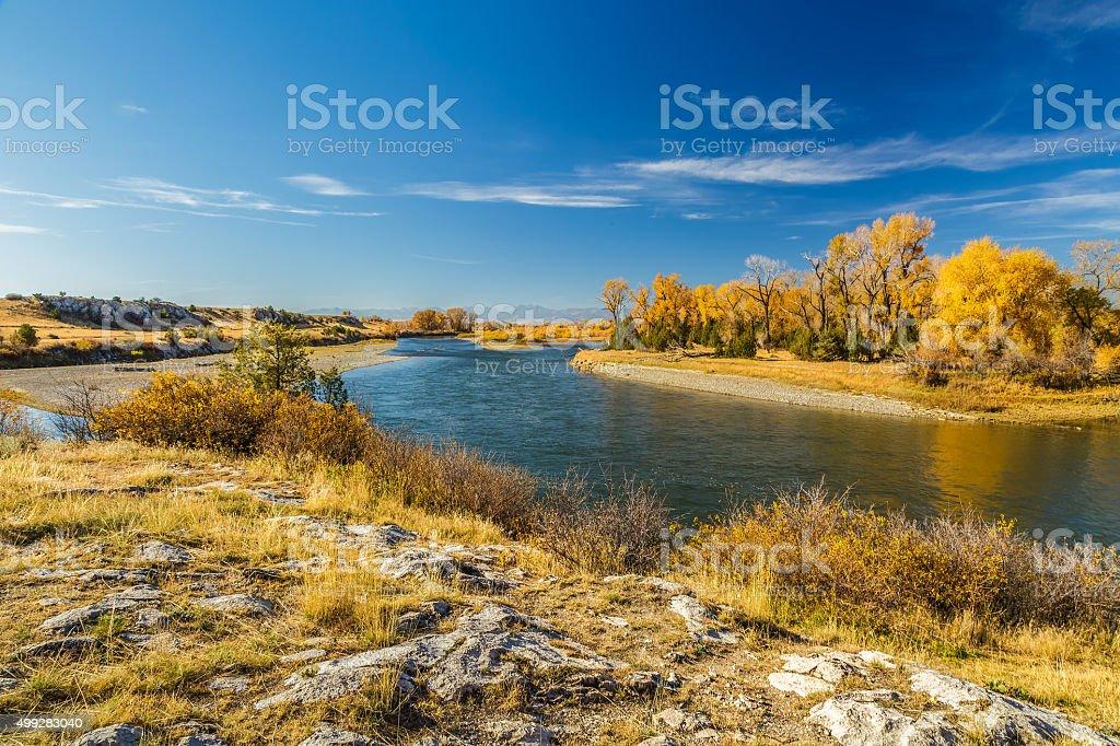 Missouri Headwaters Park stock photo