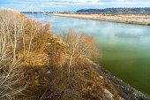 Missouri River close to Kansas City