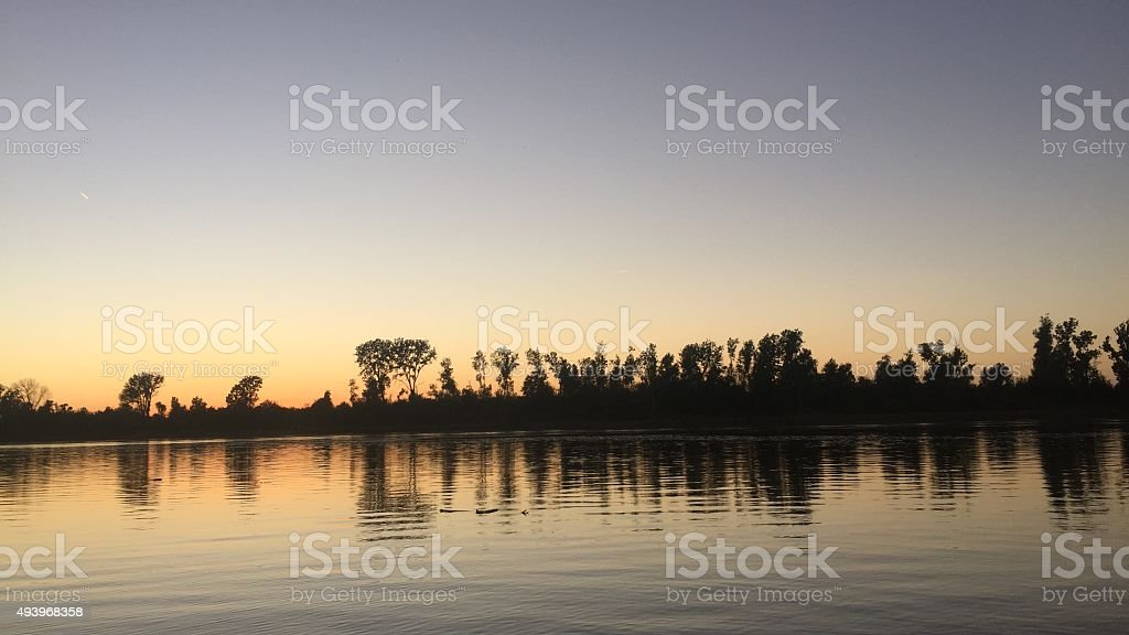 Missouri River stock photo