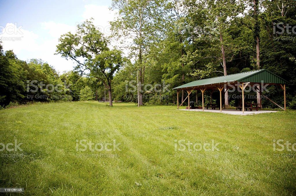 Missouri springtime lanscapes stock photo