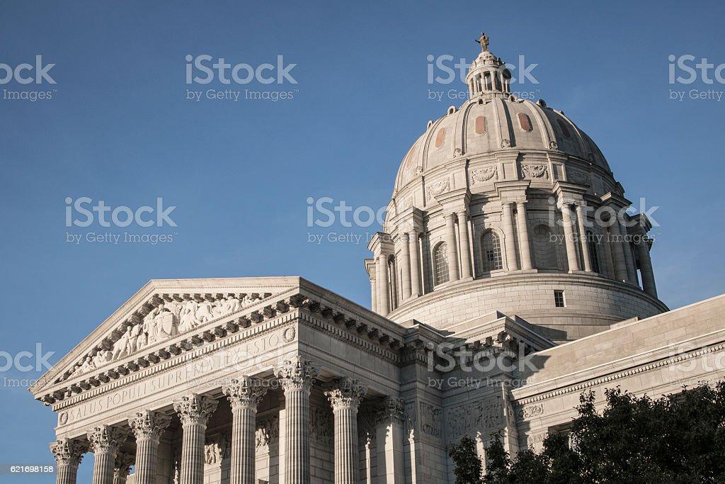 Missouri State Capitol Building Dome stock photo