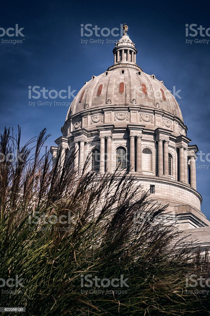 Missouri State Capitol Building Dome stock photo