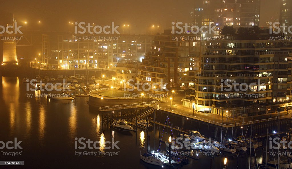 Mist and the Shoreline royalty-free stock photo