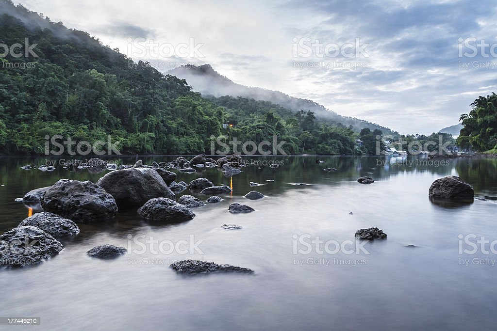 Mist of the morning. royalty-free stock photo