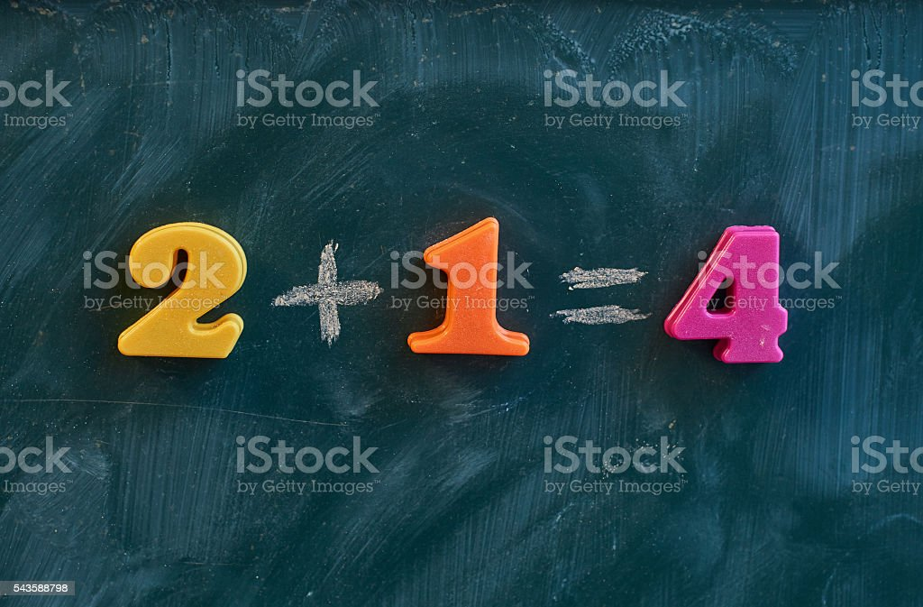 Mistake concept stock photo