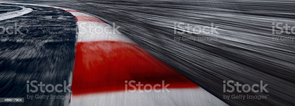 Mistery High Speed Track 3 stock photo